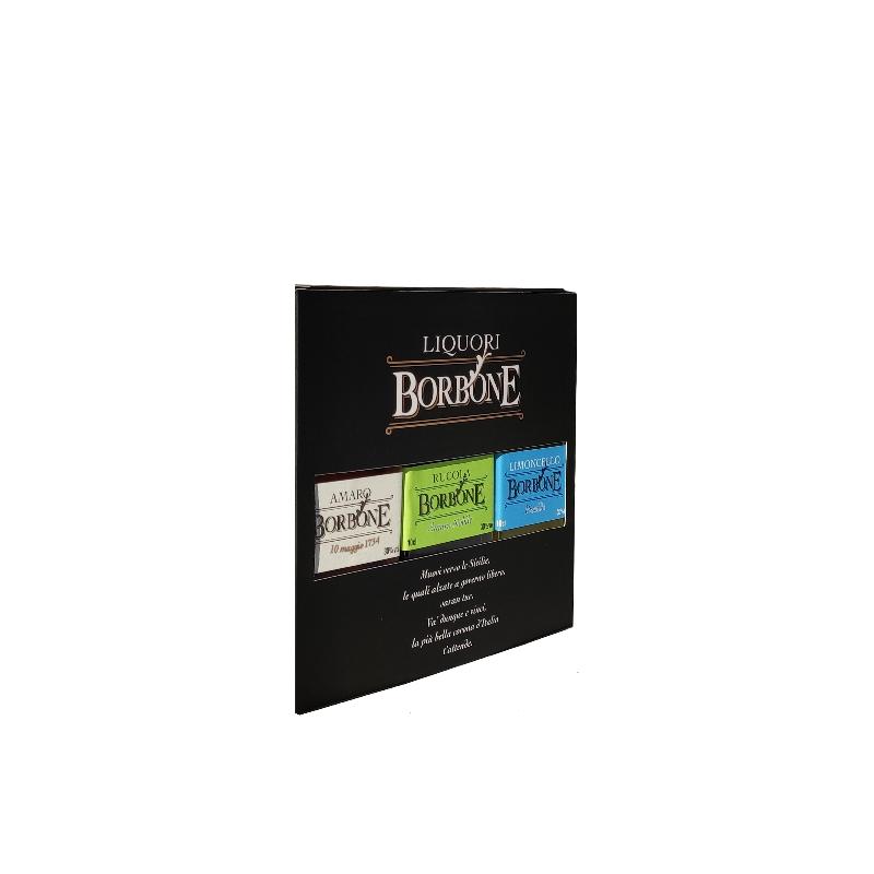Confezione Borbone Mix 3